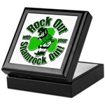 Rock Out With Your Shamrock Out Keepsake Box