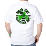 Rock Out With Your Shamrock Out Golf Shirt