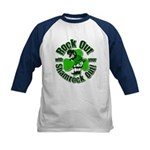 Rock Out With Your Shamrock Out Kids Baseball Jers