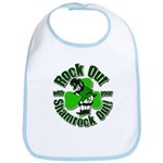 Rock Out With Your Shamrock Out Bib