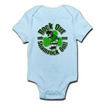 Rock Out With Your Shamrock Out Infant Bodysuit