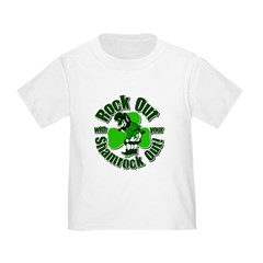 Rock Out With Your Shamrock Out T