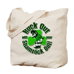 Rock Out With Your Shamrock Out Tote Bag
