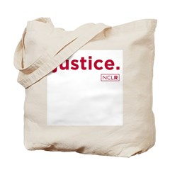 """Justice Tote Bag (1-sided, """"NCLR"""" only)"""