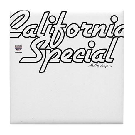 California Special Tile Coaster
