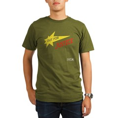Out for Justice Organic Dark T-Shirt