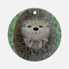 Baby Hedgehog Ornament (Round)