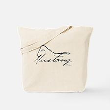 Sig Mustang Tote Bag