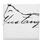 Sig Mustang Tile Coaster