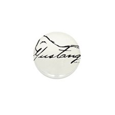 Sig Mustang Mini Button (100 pack)