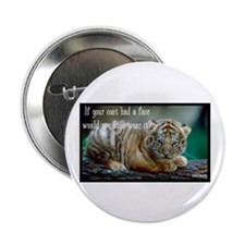 """Tiger Coat 2.25"""" Button (100 pack)"""