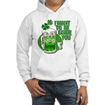 I Want To Be Inside You Hooded Sweatshirt