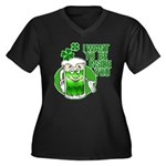 I Want To Be Inside You Women's Plus Size V-Neck D