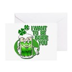 I Want To Be Inside You Greeting Cards (Pk of 10)
