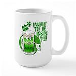 I Want To Be Inside You Large Mug