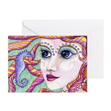 Friends - the mermaid and the Greeting Cards (Pk o