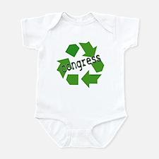 Cute Recycle congress Infant Bodysuit