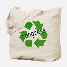 Funny Recycle congress Tote Bag