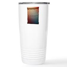 Unique Free speech Travel Mug