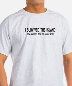 I Survived The Island T-Shirt