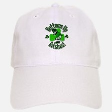 Bottoms Up Bitches Leprechaun Baseball Baseball Cap