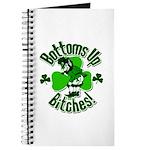 Bottoms Up Bitches Leprechaun Journal