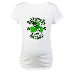 Bottoms Up Bitches Leprechaun Shirt
