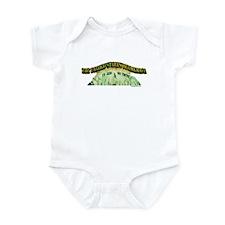 Cute God we trust Infant Bodysuit