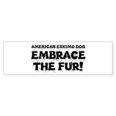 American Eskimo Dog Sticker (Bumper)