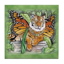 Monarch Tiger Tile Coaster