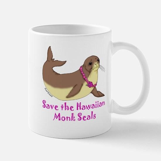 Monk Seal Mug