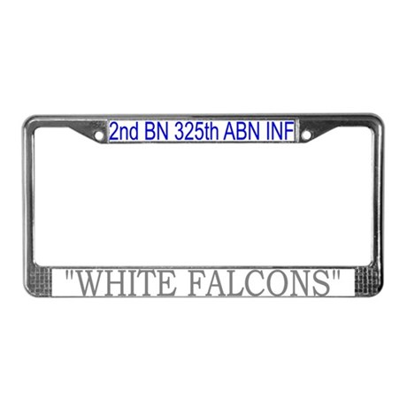 2nd Bn 325th ABN Inf License Plate Frame