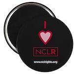 I Heart NCLR Round Magnet