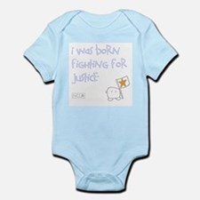 Infant Bodysuit - Born Fighting for Justice 2