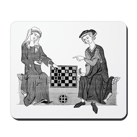 Medieval Chess Mousepad