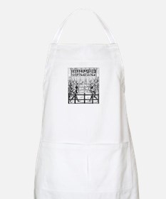Duelling Knights Apron