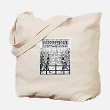 Duelling Knights Tote Bag
