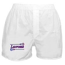 Lacrosse Sticks Boxer Shorts