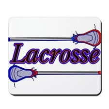 Lacrosse Sticks Mousepad