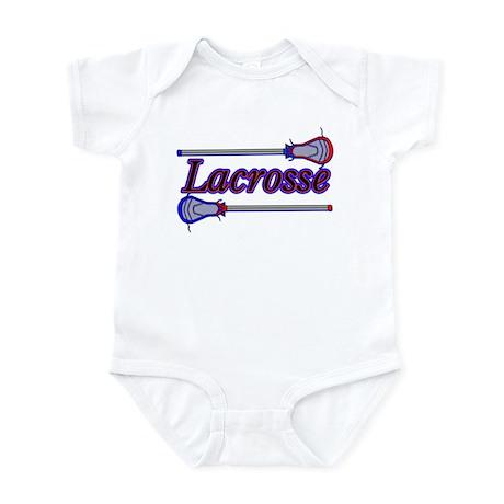 Lacrosse Sticks Infant Bodysuit