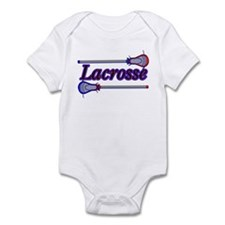 Lacrosse Sticks Infant Bodysuit