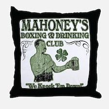 Mahoney's Club Throw Pillow