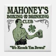 Mahoney's Club Tile Coaster
