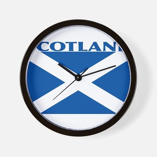 Funny Clan chattan Wall Clock
