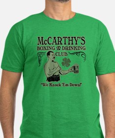 McCarthy's Club Men's Fitted T-Shirt (dark)