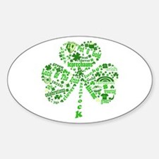 St Paddys Day Shamrock Decal
