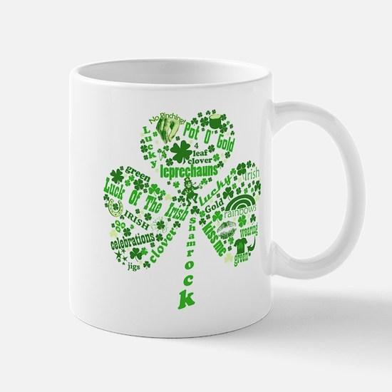 St Paddys Day Shamrock Mug