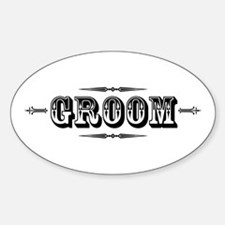 Groom - Old West Decal