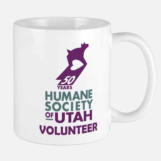 2-VolunteerLogoTrans Mugs