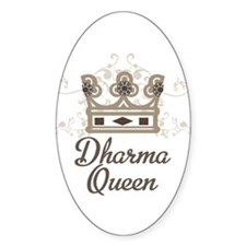 Dharma Queen Decal